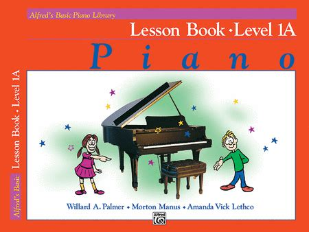 you at piano books alfred s basic piano course lesson book level 1a sheet