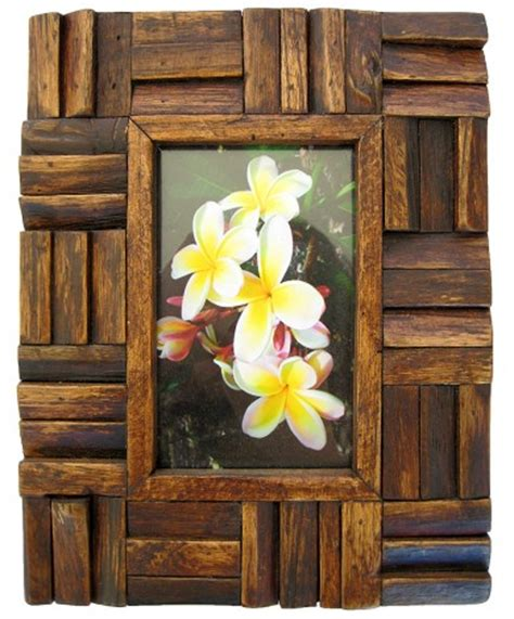 Handmade Wooden Picture Frames - handmade teak wooden picture frames carved teakwood