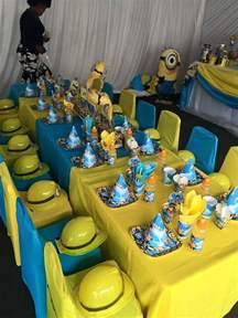 one in a minion 1st birthday supplies