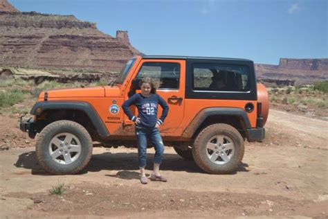 jeep orange another orange jeep picture canyonlands jeep adventures