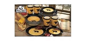big sky carvers dinnerware collection cabela s
