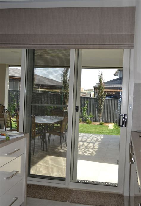 roll up shades for sliding glass doors best 25 sliding door blinds ideas on sliding