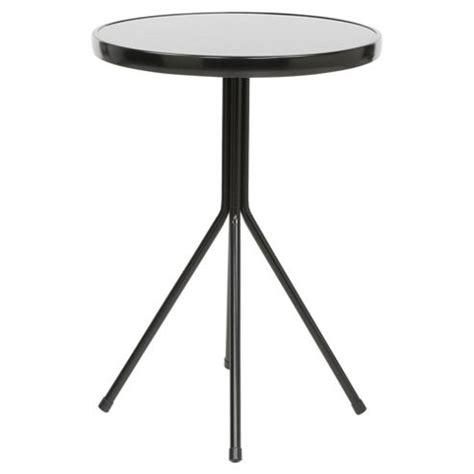 Black Metal Bistro Table Buy Black Metal Garden Bistro Table From Our Metal Garden Furniture Range Tesco