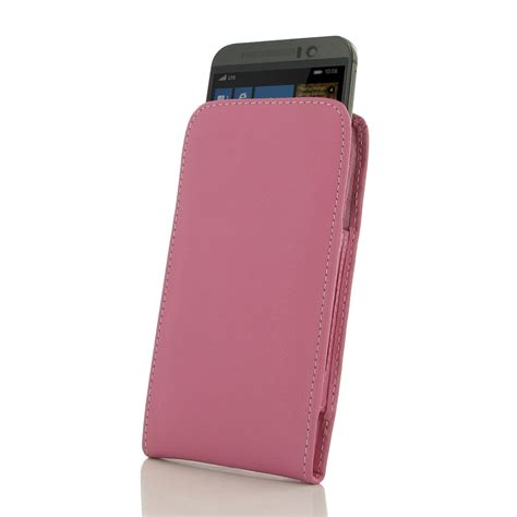 Pink Pouch htc one m9 leather sleeve pouch petal pink pdair flip wallet