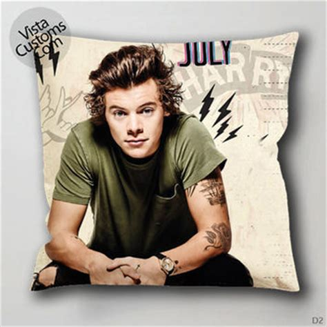 Harry Styles Pillow by Harry Styles One Direction Pillow From Vistacustoms