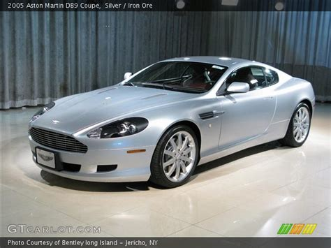 photos and videos 2005 aston martin db9 coupe history in pictures kelley blue book silver 2005 aston martin db9 coupe iron ore interior gtcarlot com vehicle archive 283386