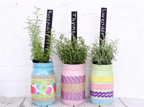 diy self watering herb garden craftionary