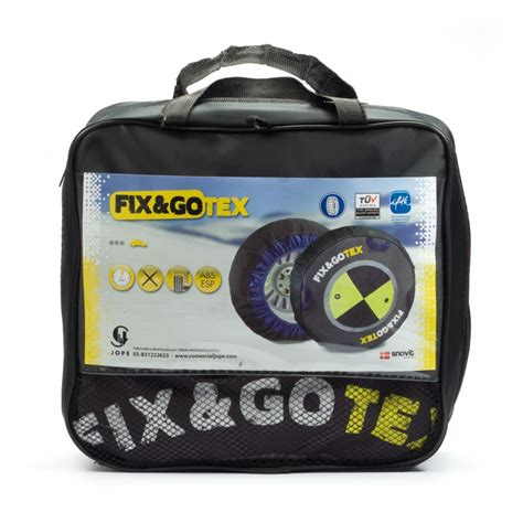 cadenas fix gotex funda nieve textil fix gotex s ventaneumaticos
