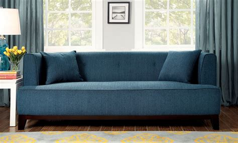 dark teal sofa furniture of america 2 pcs sofa set dark teal cm6761tl