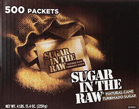 7 oz of unrefined carbohydrates sugar in the sugar turbinado from