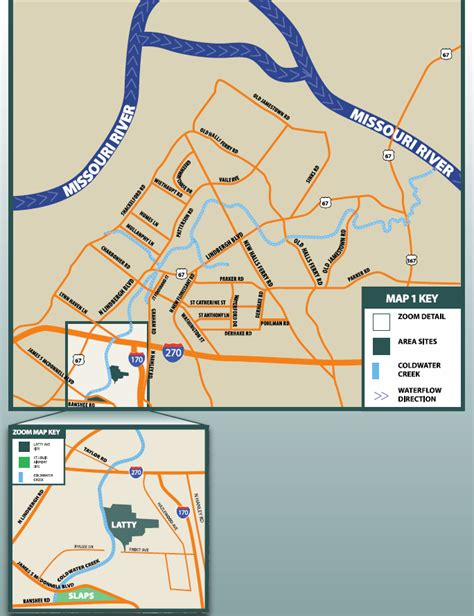 coldwater creek map county residents seek answers on coldwater creek