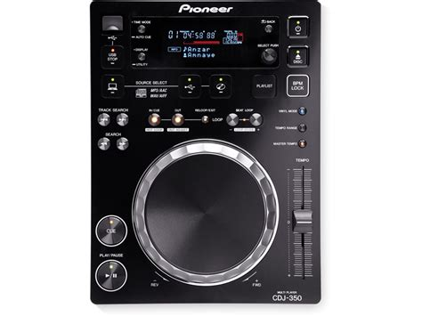 Alat Dj Cdj 350 Cdj 350 Rekordbox Ready Digital Deck Black Pioneer Dj