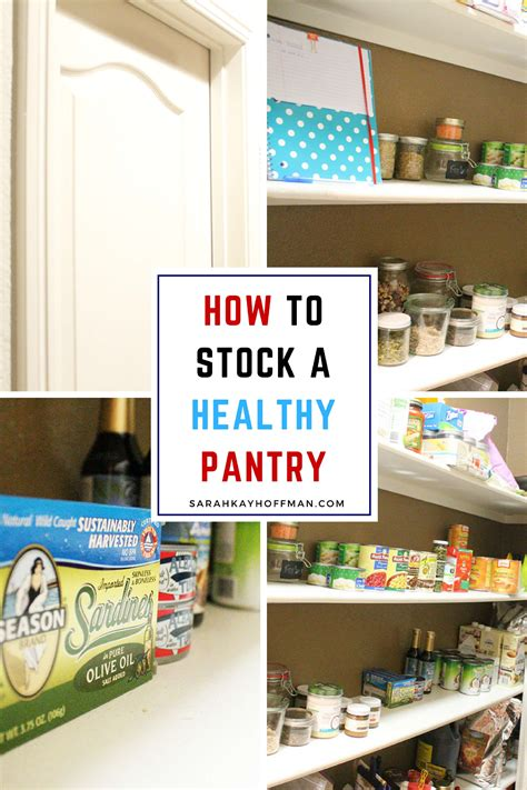 How To Stock A Healthy Pantry how to stock a healthy pantry hoffman