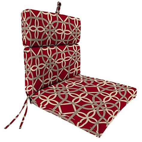 22 Inch Outdoor Chair Cushions by 44 Inch X 22 Inch Universal Chair Cushion In Keene Cherry