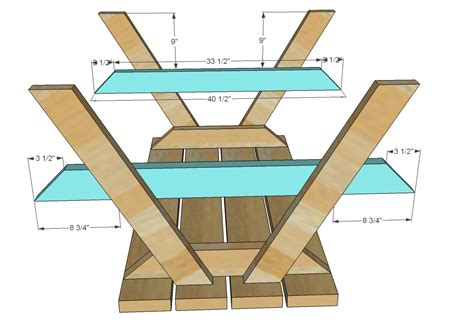 Free Woodworking Plans For Picnic Tables