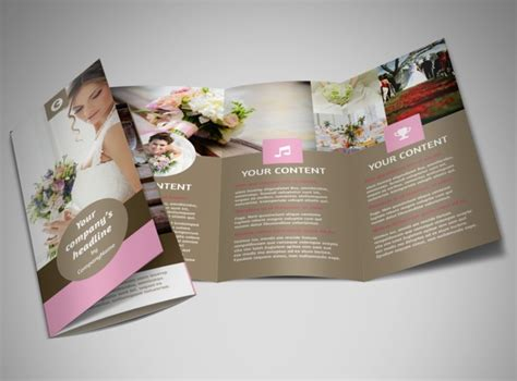 wedding brochure templates wedding florists brochure template mycreativeshop