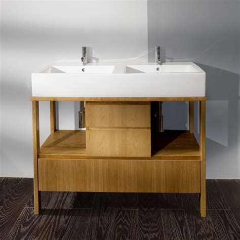 Lacava Aquamedia 42 1 2 Quot Double Bowl Vanity Contemporary
