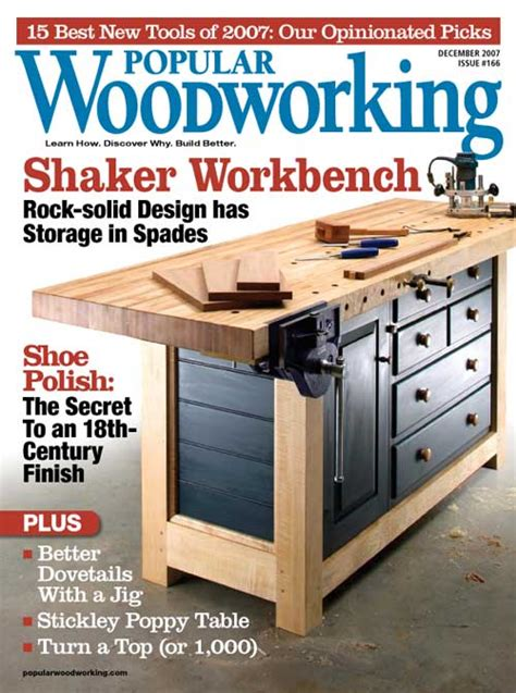 woodwork magazine popular woodworking magazine index
