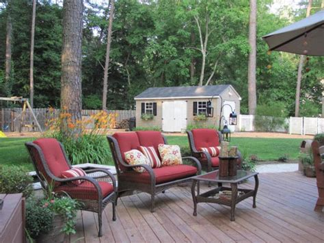 Outdoor Patio Accessories Canada Rustic Style Backyard Decor With Walmart Patio Chairs In