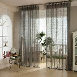 popular grey sheer curtains buy cheap grey sheer curtains lots from china grey sheer curtains