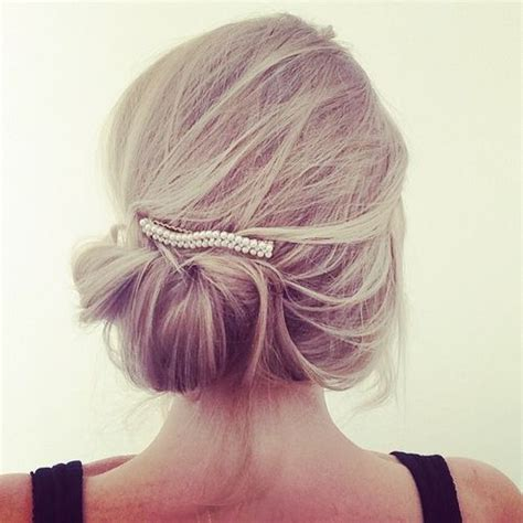 messy updos for fine hair trubridal wedding blog 60 updos for thin hair that score