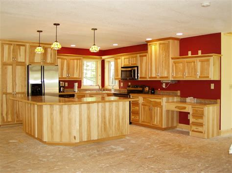 rustic hickory cabinets home design wishful thinking