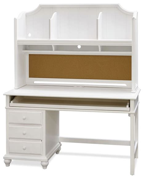 White Desks With Hutch Smartstuff White Desk With Hutch From Smart Stuff 437a020 437a027 Coleman Furniture