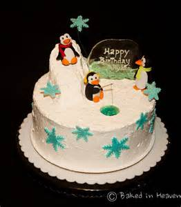 pinguin kuchen penguin cake baked in heaven