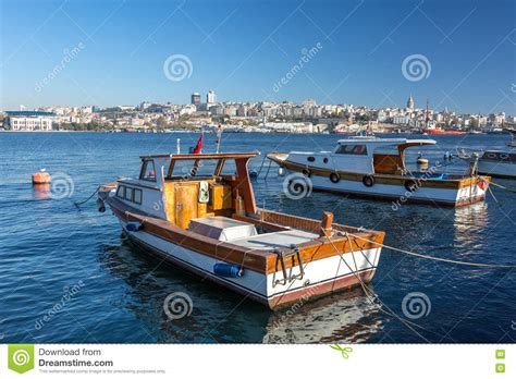 boat view images sea harbor and boats with city view on background royalty