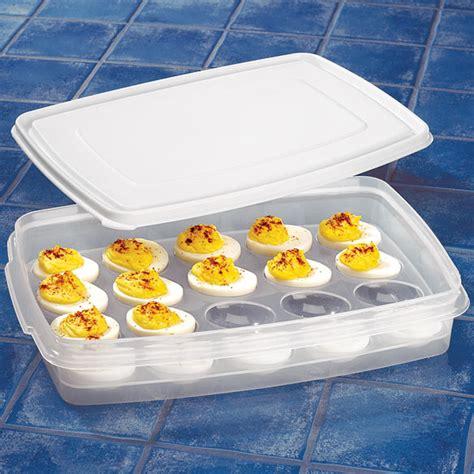 Kitchen Egg Containers Deviled Egg Container Deviled Egg Holder Kitchen