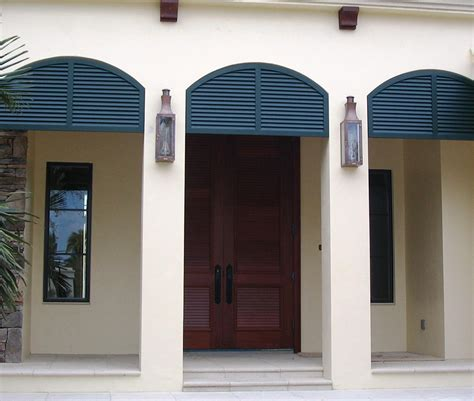 Colonial Shutters by Naples Bahama Shutters Colonial Shutters Exterior