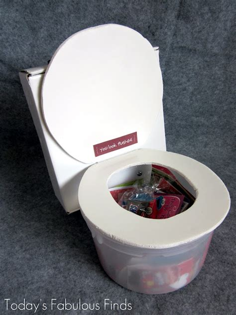 cool valentines box ideas today s fabulous finds flushing toilet box