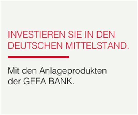 gefa bank wuppertal gefa bank tagesgeld mit 0 10 u deutscher einlagensicherung