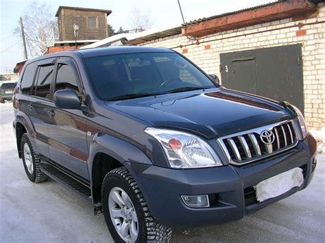 2006 Toyota Prado For Sale 2006 Toyota Land Cruiser Prado Images 4000cc Gasoline