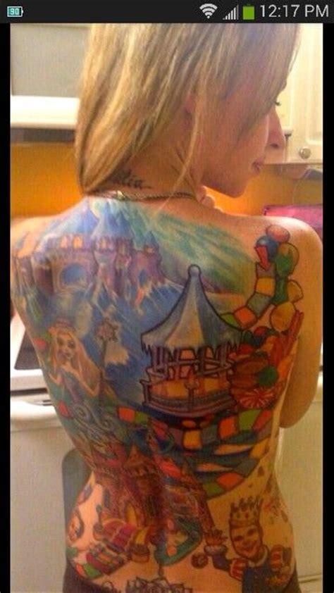 candyland tattoo candyland hoarding ideas