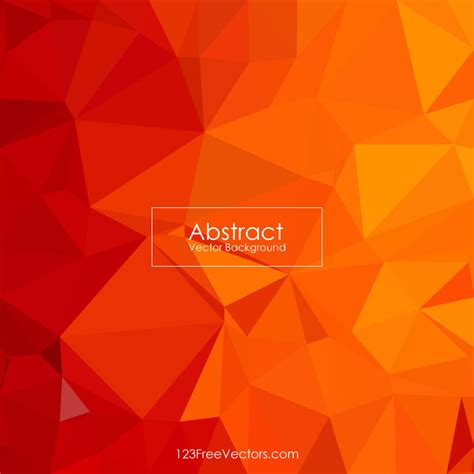 pattern background illustrator free cool orange abstract polygonal pattern background