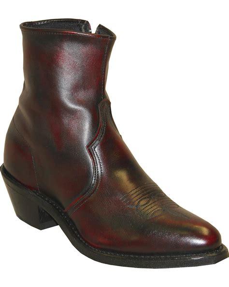 zipper boots abilene s by boot zipper 3151 ebay