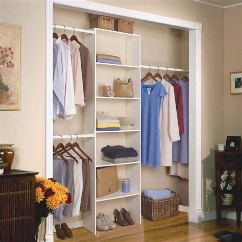 closetmaid adjustable shelf track closet organizer