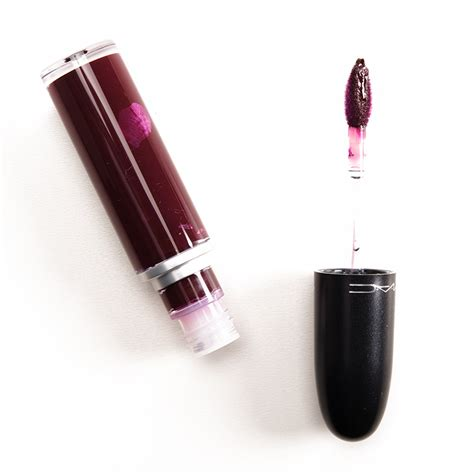 Mac Retro Matte Lipstick hsamablog mac retro matte lipstick swacthes batom liquido