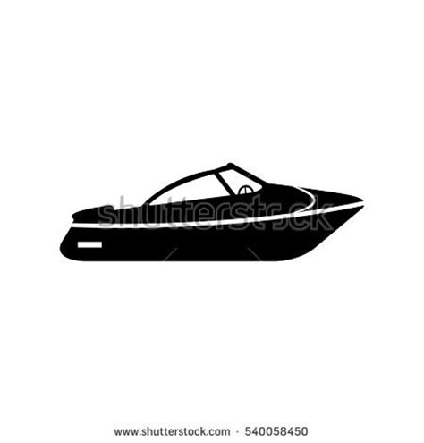 boat icon black and white boat icon stock images royalty free images vectors