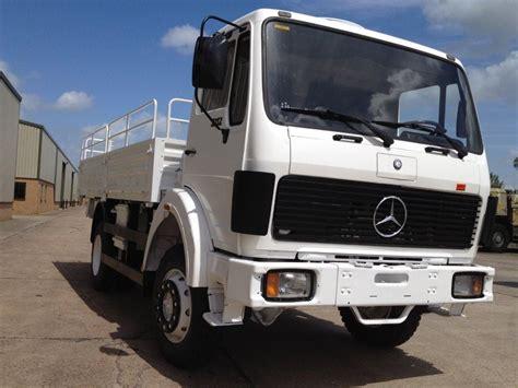 mercedes truck 4x4 mercedes 1017 4x4 drop side cargo truck ex mod direct sales