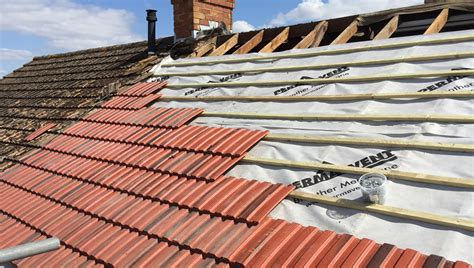 cost of replacing clay tile roof replacing a roof labour material costs