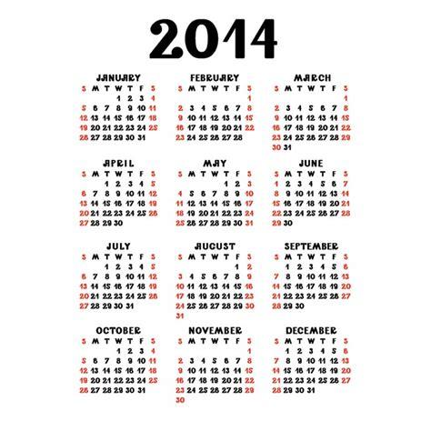 2014 Year Calendar 2014 Calendar Calendar