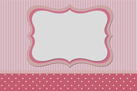 pink polka dot invitations pink and white stripes and polka dots free printable invitations oh my in
