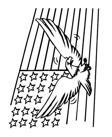 american flag and eagle coloring page bald eagle coloring pages for kids printable