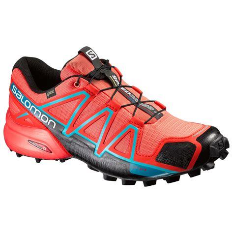 gtx trail running shoes salomon s speedcross 4 gtx trail running shoes