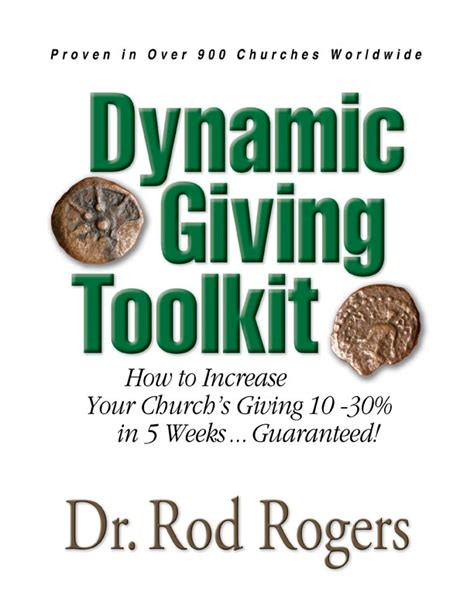 the in the of the church the dynamic of god books pastor s innovative stewardship toolkit guarantees
