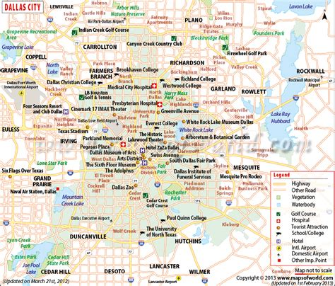 map of dallas and suburbs dallas map map of dallas dallas map tx