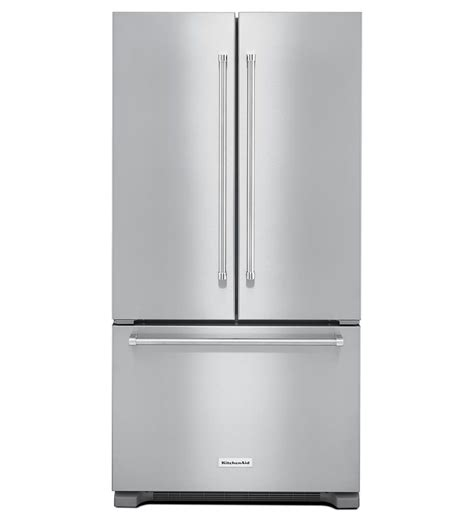 36 door refrigerator 36 kitchenaid 22 cu ft width counter depth door