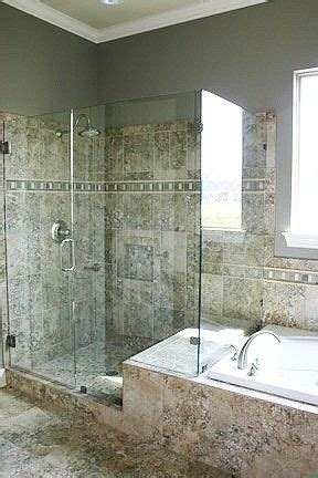 bathroom with separate shower and bathtub must have a glass shower with a separate jacuzzi tub